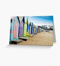 Location, Location, Location - Brighton Beach Boxes - Australia Greeting Card