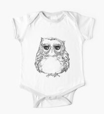 Fat owl is Unimpressed One Piece - Short Sleeve