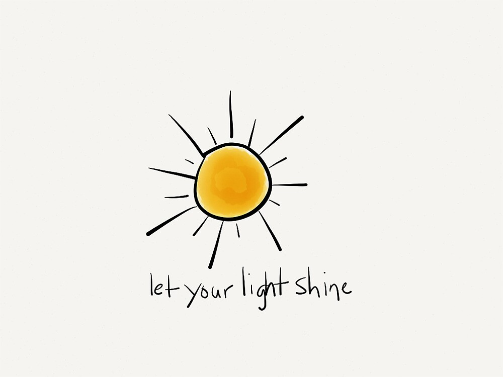Let Your Light Shine by Pamela Shaw