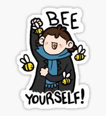 Bee Yourself! Sticker