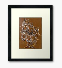 The Tigers of Noah's Lost Ark Framed Print