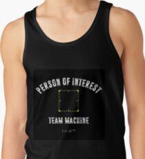 "Person of Interest ""Team Machine"" Tank Top"