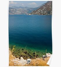 The Bay of Kotor in Montenegro Poster
