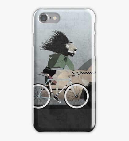 Alleycat Race iPhone Case/Skin
