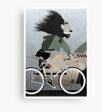 Alleycat Race Canvas Print