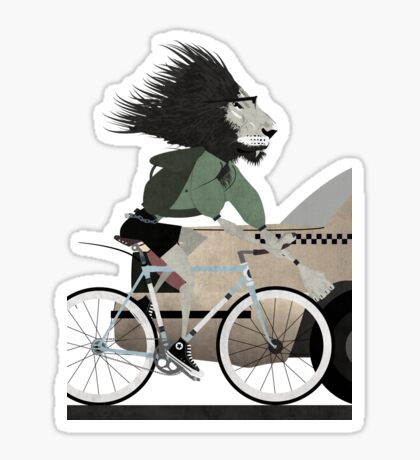 Alleycat Race Sticker