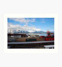 Port Metro - Burrard Inlet Art Print