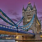 Tower Bridge From Below - HDR by Colin  Williams Photography