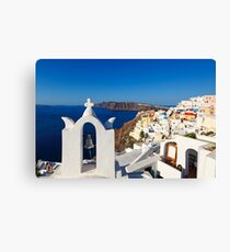 Santorini, Greece Canvas Print