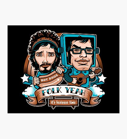 Folk Yeah! Photographic Print