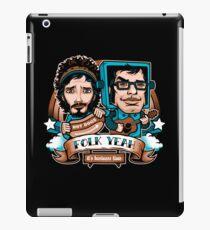 Folk Yeah! iPad Case/Skin