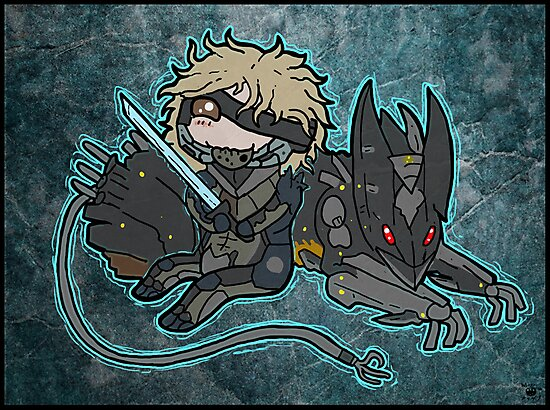 Raiden and Wolf by MagenWorks