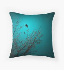 sparrow (002)  Throw Pillow