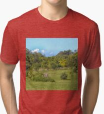 Beautiful Rural Property Tri-blend T-Shirt