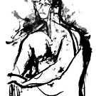 Life Drawing Study 2. by Andy Nawroski