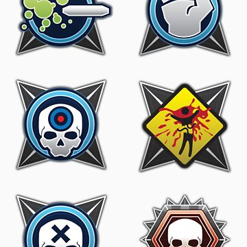Halo 4 Sticker Pack 1 by theerikjohnson