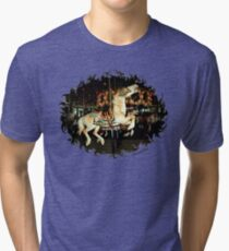 Rod Serling's Boyhood Carousel  Tri-blend T-Shirt
