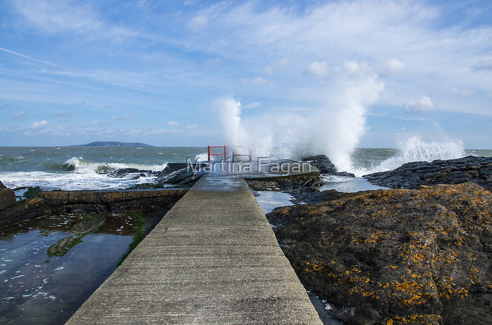 A Blustery day at High Rock  by Martina Fagan