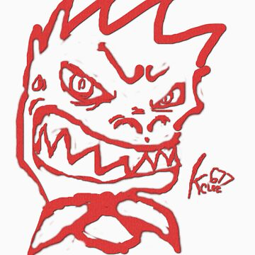 Fade red Rex smile  by KcLee677