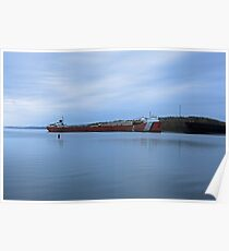 Shipping Barge  Poster