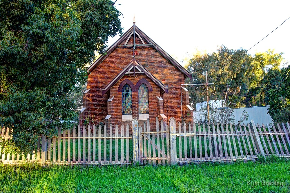 Old Church  Morongla  NSW  Australia  by Kym Bradley