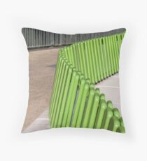 curved seat Throw Pillow