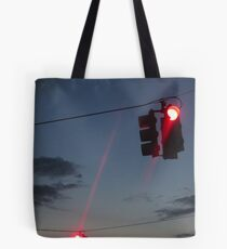 Dancing Traffic Lights Tote Bag