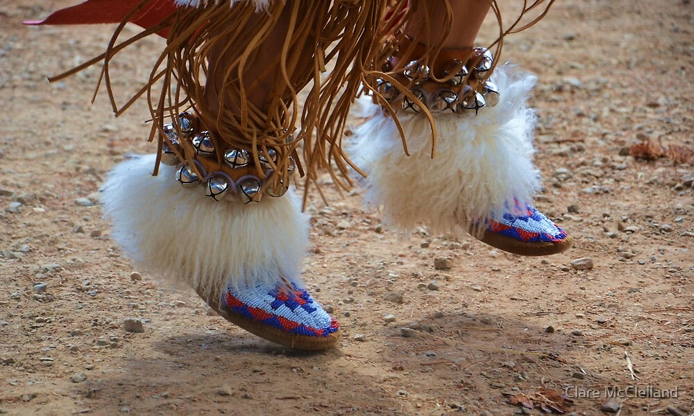 Beads and Bells - Apache Dancer by Clare McClelland
