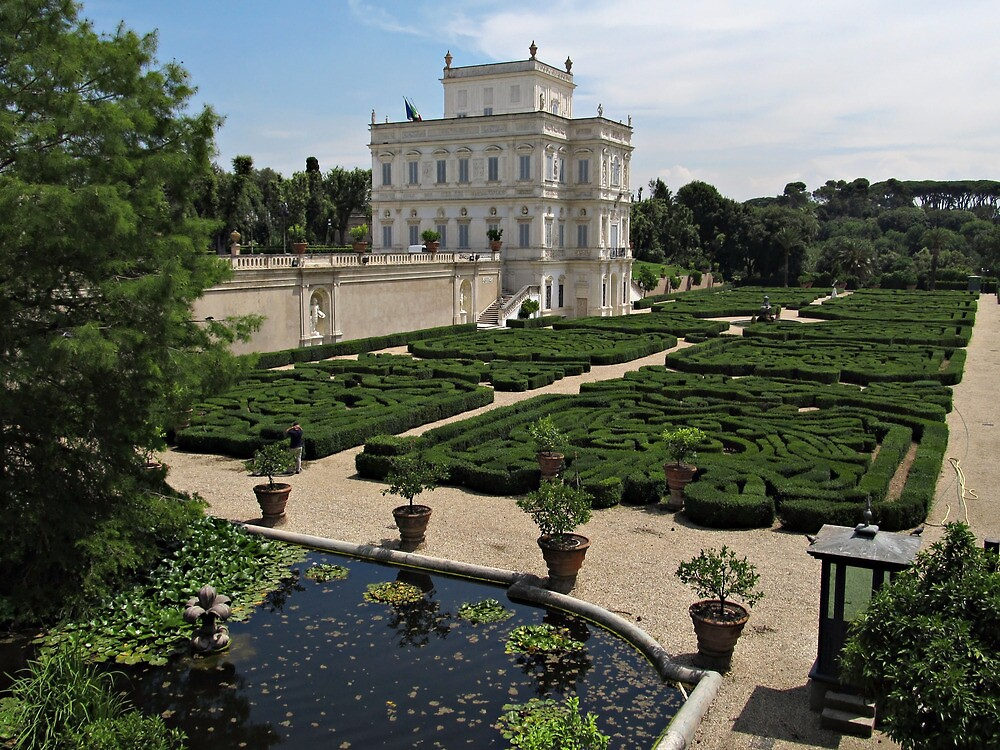 Rome Villa Doria Pamphili by kirilart