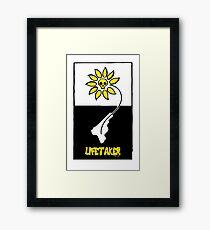 Lifetaker Graphic Poster Framed Print