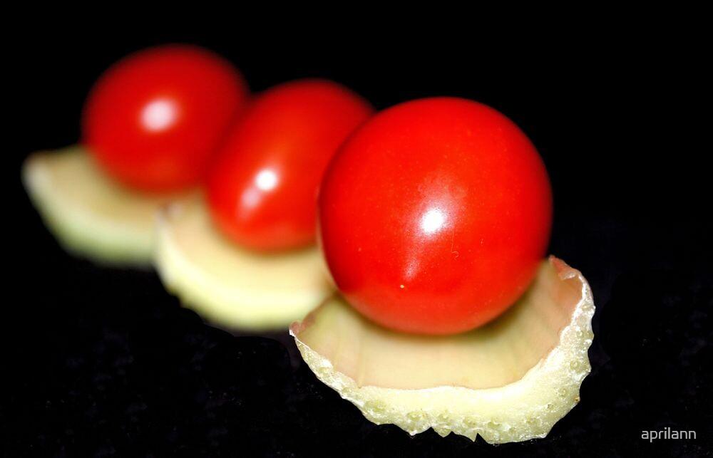 Tomato on Celery by aprilann
