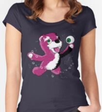 Breaking Bear Women's Fitted Scoop T-Shirt