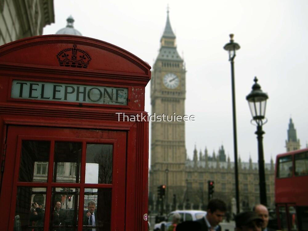 A Telephone Box II by Thatkidstuieee