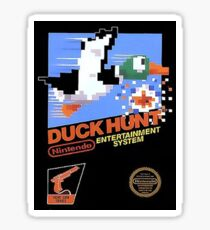 Duck Hunt Nes Art Sticker