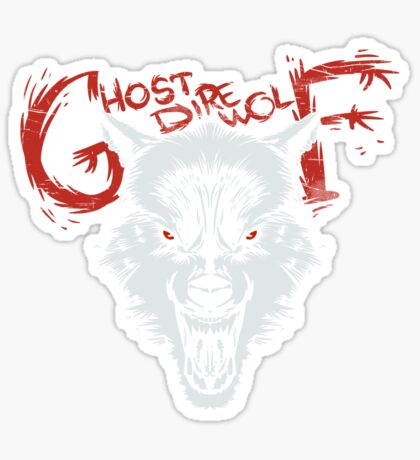 Ghost Direwolf Sticker