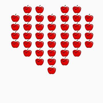 I Love Apples by DeadBird