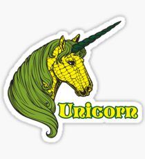 Unicorn Corn Sticker