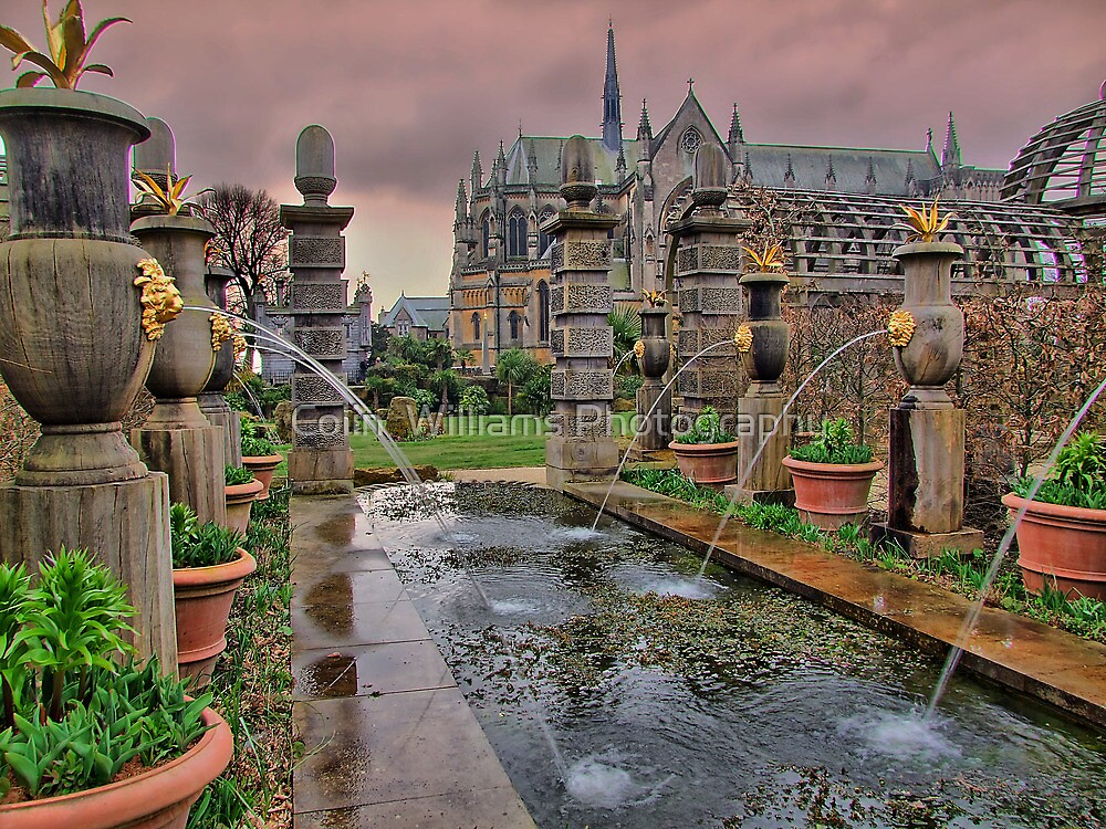 The Collector Earl's Garden Arundel Castle 1 - HDR by Colin  Williams Photography