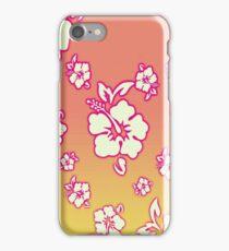Hawaiian Sunset Floral Wallpaper iPhone iPod Case iPhone Case/Skin