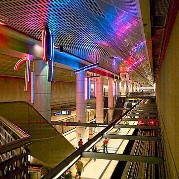 Pershing Square Metrolink Station by MCHerdering