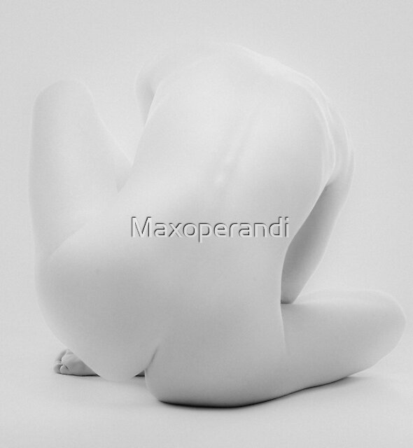 Grey Nude I by Maxoperandi