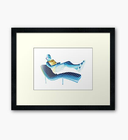 Uplift Drift Framed Print
