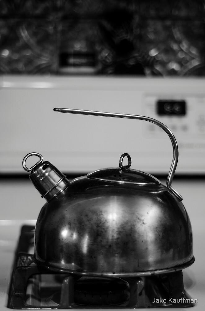 Tea Pot B&W by Jake Kauffman