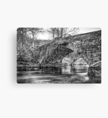 Water Under the Bridge by Smart Imaging Canvas Print
