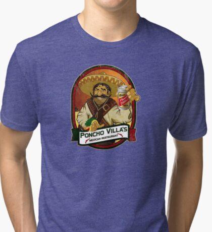 Poncho Villa Tri-blend T-Shirt