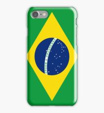 Smartphone Case - Flag of Brazil - horizontal iPhone Case/Skin