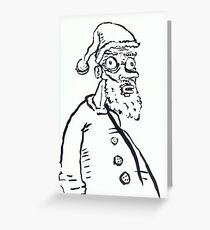 Ugly Santa 1 Greeting Card