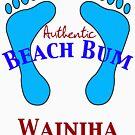 Authentic Beach Bum Wainiha Kauai Hawaii by pjwuebker