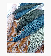 Knitted Designs  Photographic Print