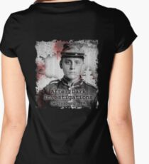 After Dark Investigations - Paranormal Civil War Tee Women's Fitted Scoop T-Shirt